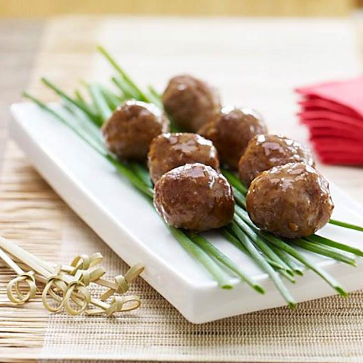 General Tsaos Meatballs
