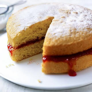 Mary Berry's perfect Victoria sandwich.