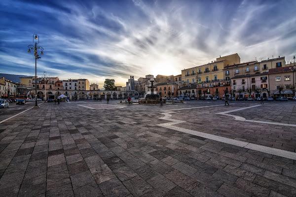 In piazza di Matteo90