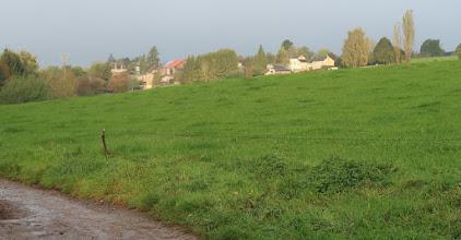 Photo: Village de Mont derrière nous.