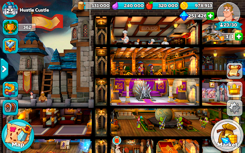 Hustle Castle: Medieval games in the kingdom Apk Download For Android and Iphone 7