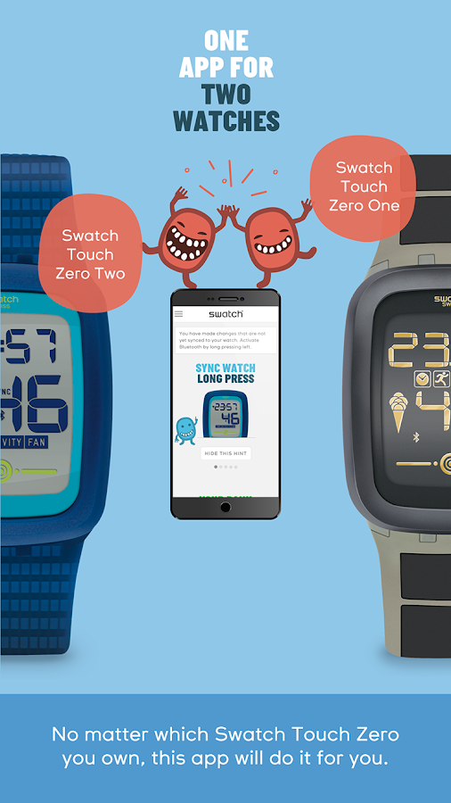 Swatch Touch Zero- screenshot
