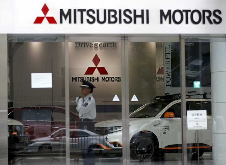 Mitsubishi Motors' showroom at its headquarters in Tokyo, Japan. Picture: REUTERS