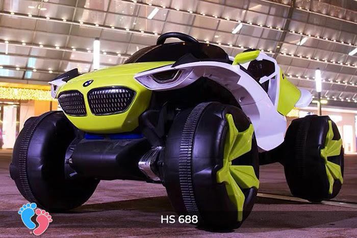Xe ô tô điện địa hình cho bé hs-688 12
