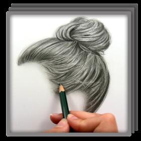 Рисование реалистичных волос
