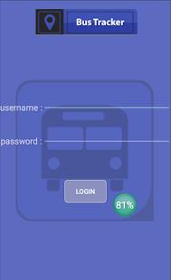Bus Tracker - náhled