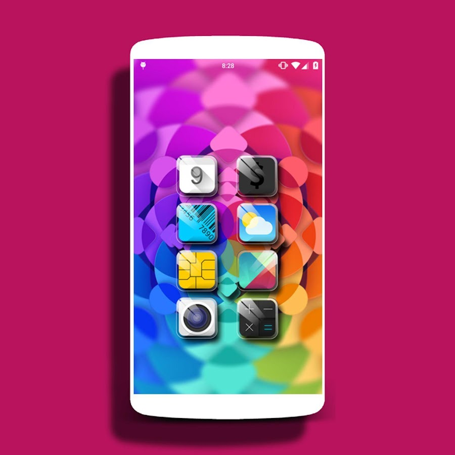 Crystal - icon pack  Theme HD- screenshot