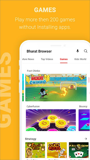 Bharat Browser screenshot 3