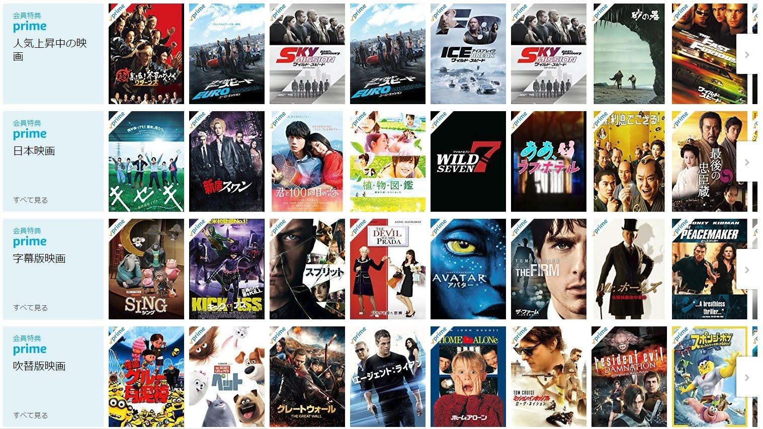 海外からamazonプライムビデオの全番組を見る方法