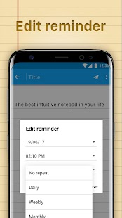 Notepad - Notes with Reminder, ToDo on Lockscreen Ekran Görüntüsü