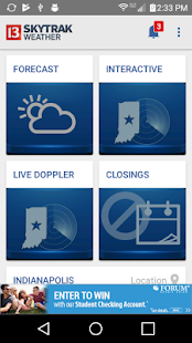 WTHR Live Doppler 13 Weather- screenshot thumbnail