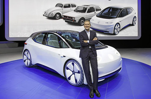 TOUGH TARGETS: Volkswagen CEO Herbert Diess warns that changing the world's vehicles to electric is going to be difficult and very expensive