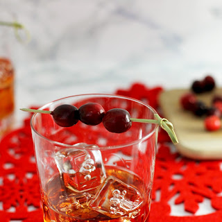 Cranberry Apple Old Fashioned
