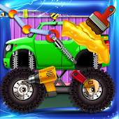 Monster Truck Builder & Maker