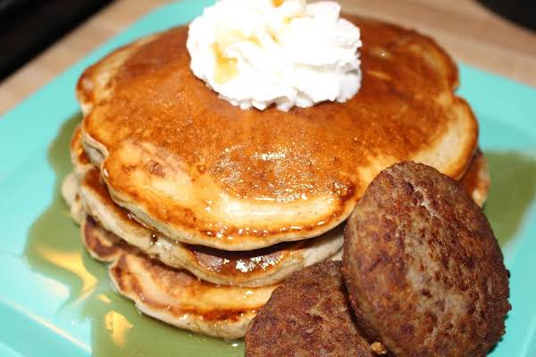 Spiced Apple Pancakes Recipe