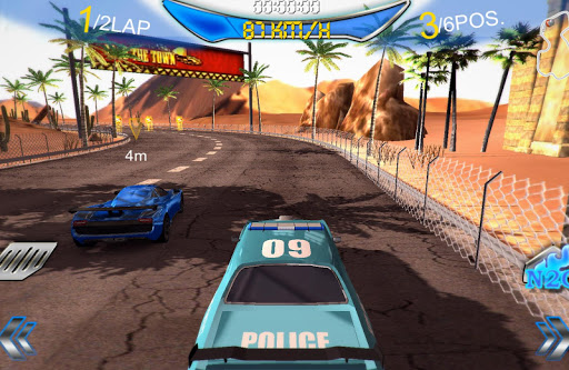 Real Muscle Racing 3D