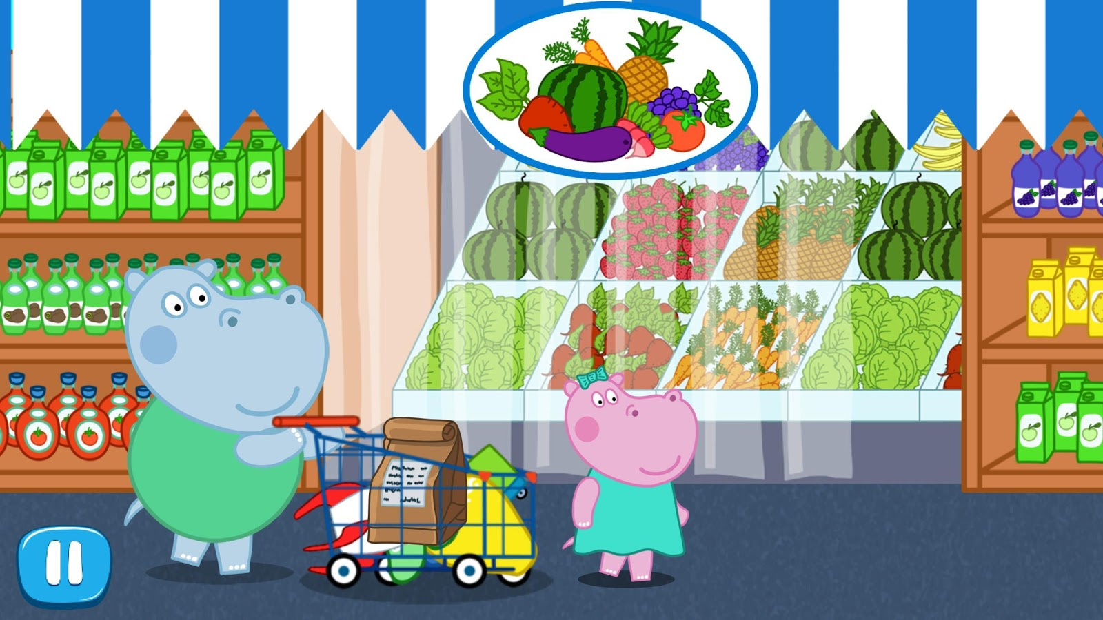 Funny Supermarket - Shopping for all Family- screenshot