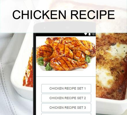 Chicken recipes - screenshot