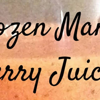 Frozen Berry Juice Recipes.