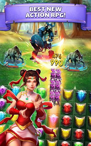 Empires & Puzzles game (apk) free download for Android/PC/Windows screenshot