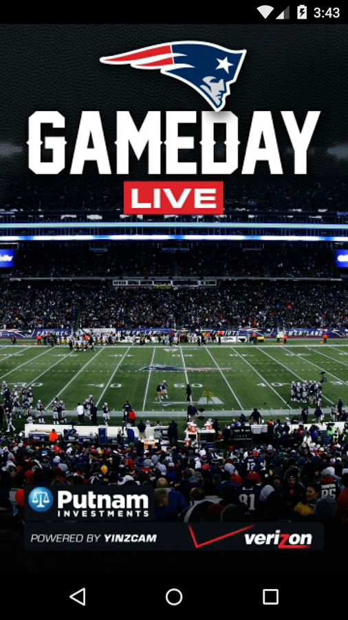 Patriots Gameday Live- screenshot
