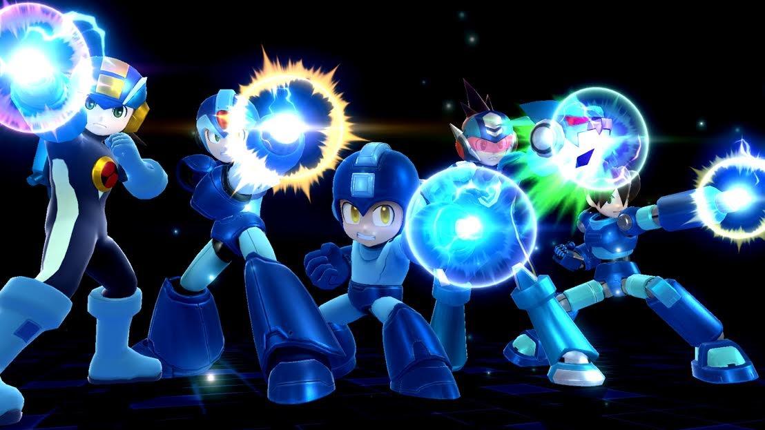 Megaman tuvo su última participación como personaje en Super Smash Bros para WiiU.