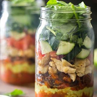 Healthy Taco Salad.