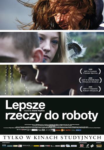 Polski plakat filmu 'Lepsze Rzeczy Do Roboty'