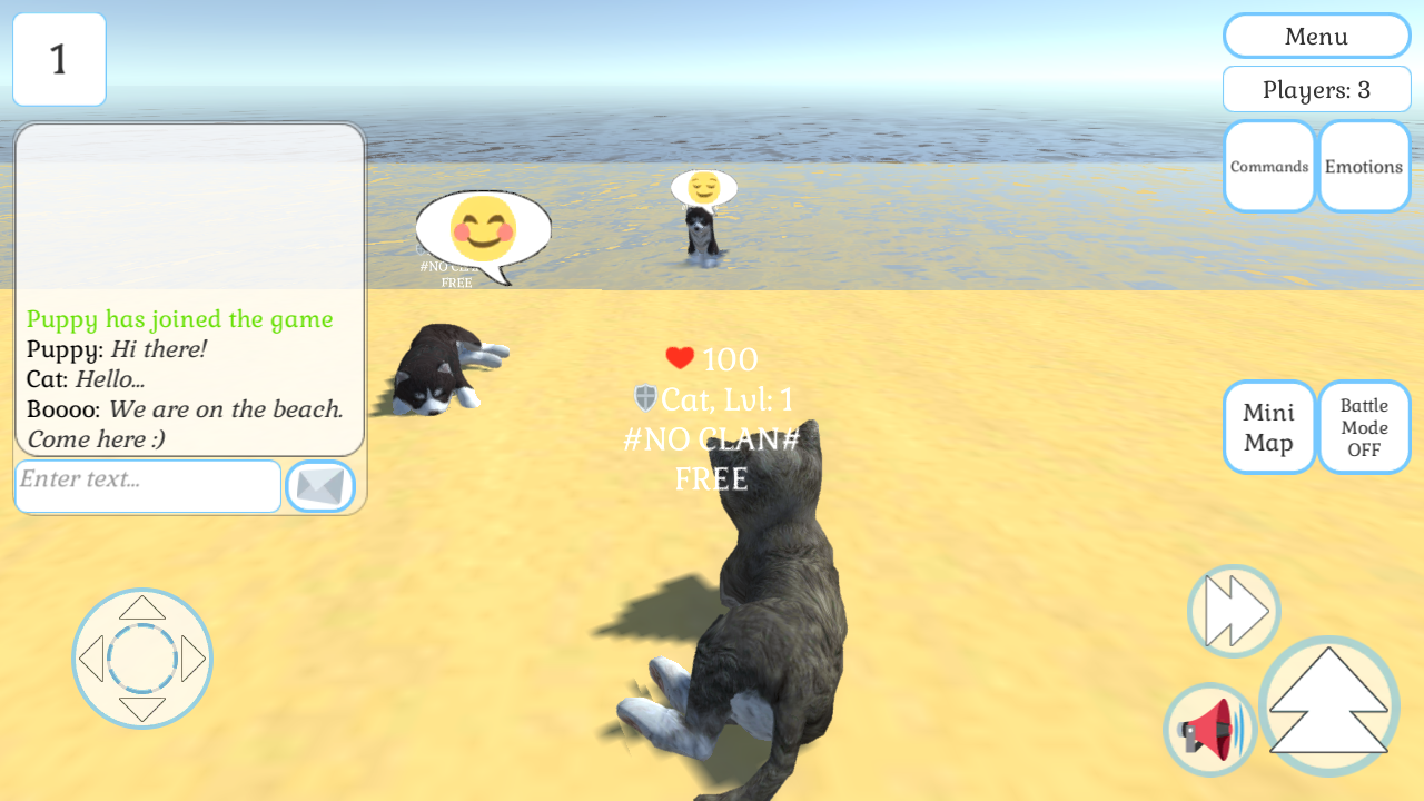 Cute Cat And Puppy World- screenshot