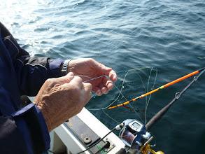 Photo: ・・・ぐちゃぐちゃ。 今、潮が止まってますので、仕掛け投入の際、気を付けてね!