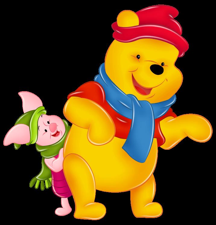 Winnie Pooh Piglet With Winter Hats 1Ag137CKLKCI0XXBPzC_