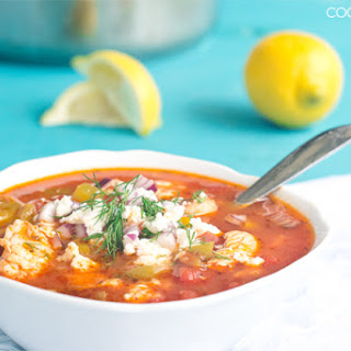 Greek Fish Soup.