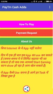 PayTm Cash Adda - náhled