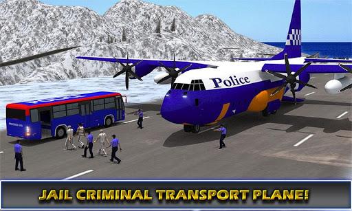 玩免費模擬APP|下載飛行機警察トランスポーター app不用錢|硬是要APP