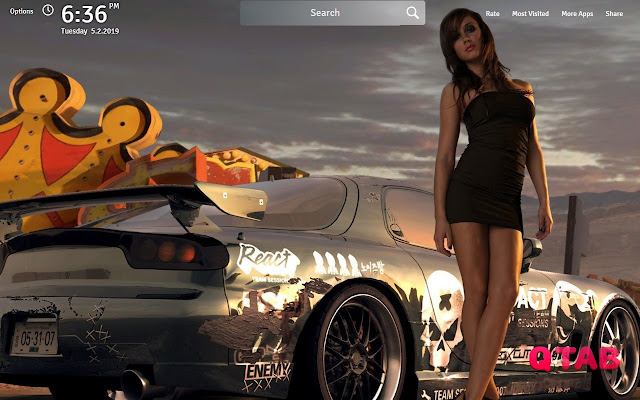 Need For Speed Wallpapers New Tab