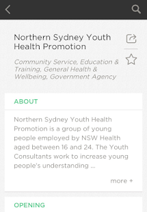 YouthSource Northern Sydney- screenshot thumbnail