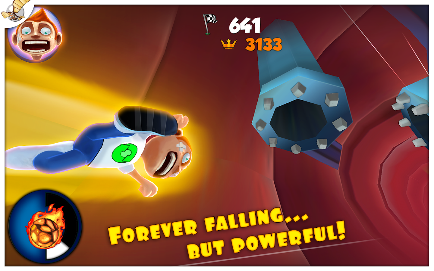 Super Falling Fred- screenshot