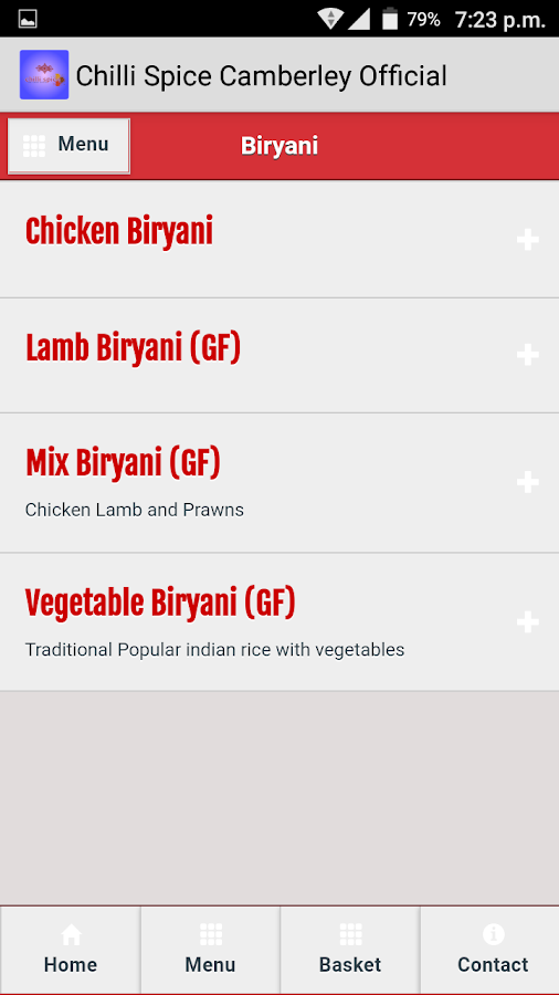 ChilliSpice Camberley Official- screenshot