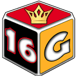 Backgammon Game with 16 games Icon