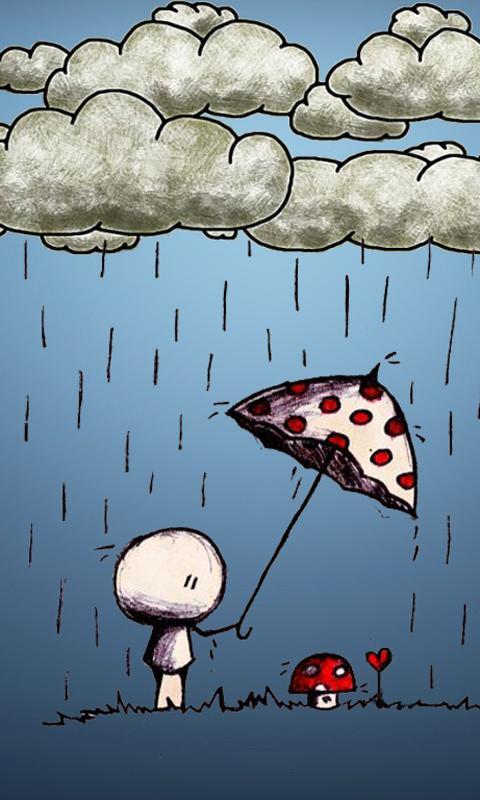Cartoon Love Wallpaper Screenshot