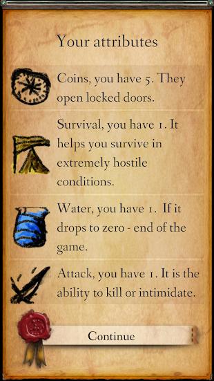 RPG Module: A game of choices- screenshot thumbnail
