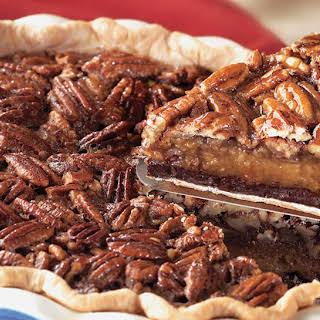 Decadent Chocolate Pecan Pie.