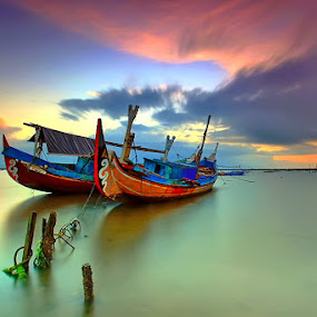 Tight Up by Agoes Antara - Transportation Boats