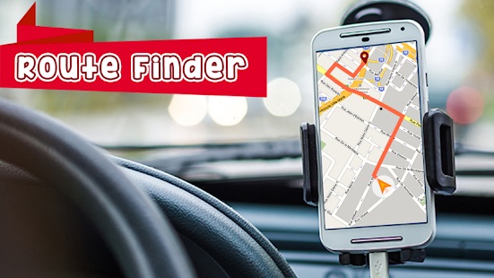 GPS Route Finder :GPS Maps Navigation & Directions - náhled