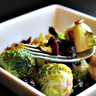 Lemon Herb Roasted Brussels Sprouts Salad