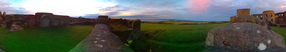 Photo: Inside Downhill Castle. Taken at 9pm with the Raspberry Pi camera board (60 separate photographs). Stitched with Hugin #RPPA