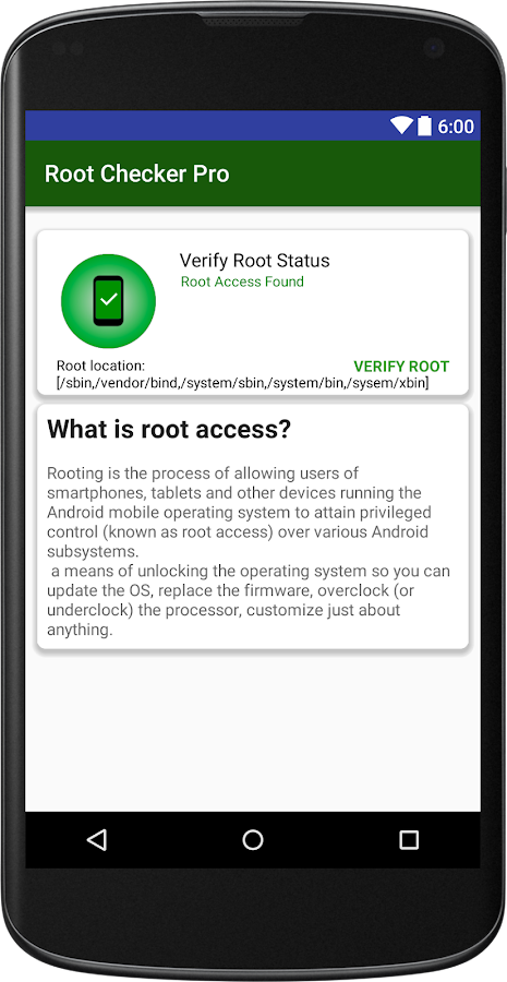 Root Checker Pro APK Cracked Free Download | Cracked Android