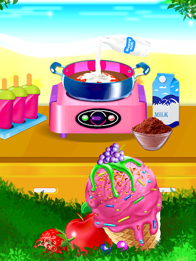Ice Cream Diary - Cooking Games APK MOD – ressources Illimitées (Astuce) screenshots hack proof 2