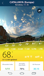 BloomSky Weather- screenshot thumbnail