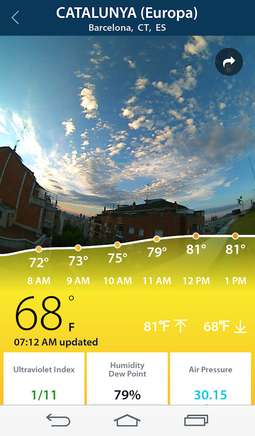 BloomSky Weather- screenshot